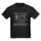 Shakespeare Kids T-shirts (Dark)