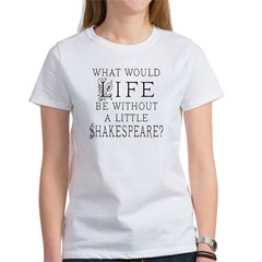 Shakespeare Lover Quote Tee