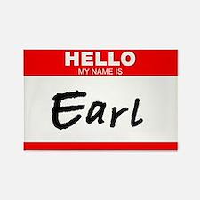EARL!!! Rectangle Magnet