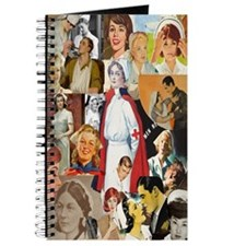 Vintage Nurse Collage Journal