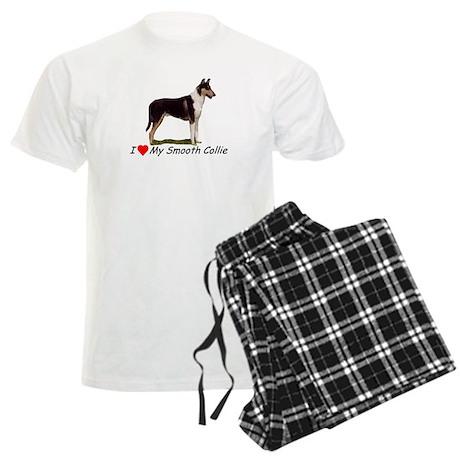 Collie_Place Men's Light Pajamas