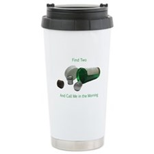 Cache Cure Travel Coffee Mug