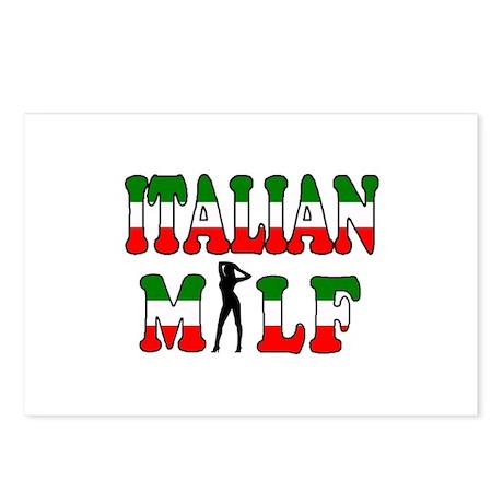 Italian Milf Postcards (Package of 8)
