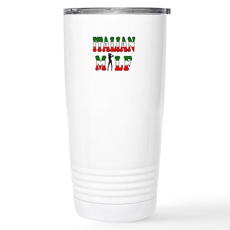 Italian Milf Stainless Steel Travel Mug