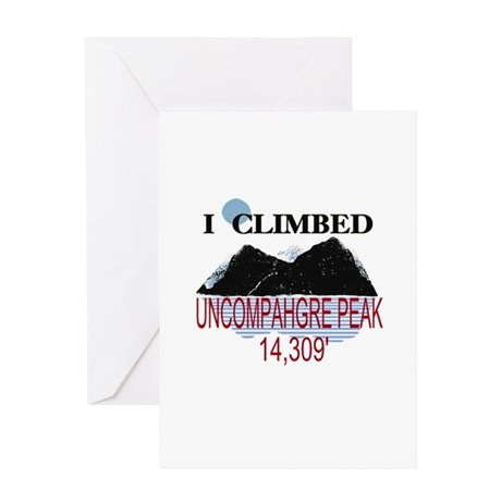 I Climbed UNCOMPAHGRE PEAK Greeting Card
