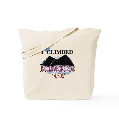 I Climbed UNCOMPAHGRE PEAK Tote Bag