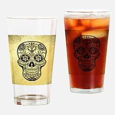 Skull20170494_by_JAMFoto Drinking Glass