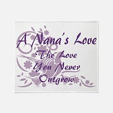 Nana Love Throw Blanket
