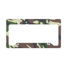 Camouflage License Plate Holder