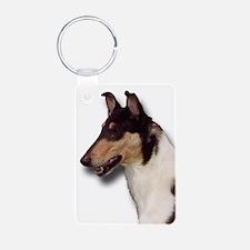 Cute Dog breeds Aluminum Photo Keychain