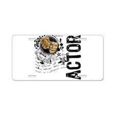Actor Alchemy Collage Aluminum License Plate