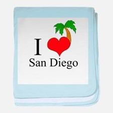 San Diego baby blanket