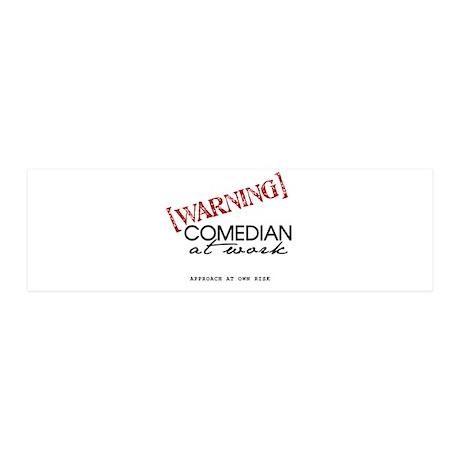Warning: Comedian 21x7 Wall Peel