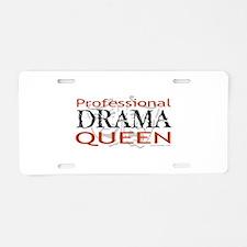 Professional Drama Queen Aluminum License Plate