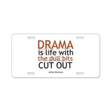 Alfred Hitchcock Quote on Dra Aluminum License Pla