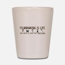 Filmmaking is Life Shot Glass