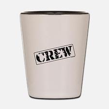 Crew Stamp Shot Glass
