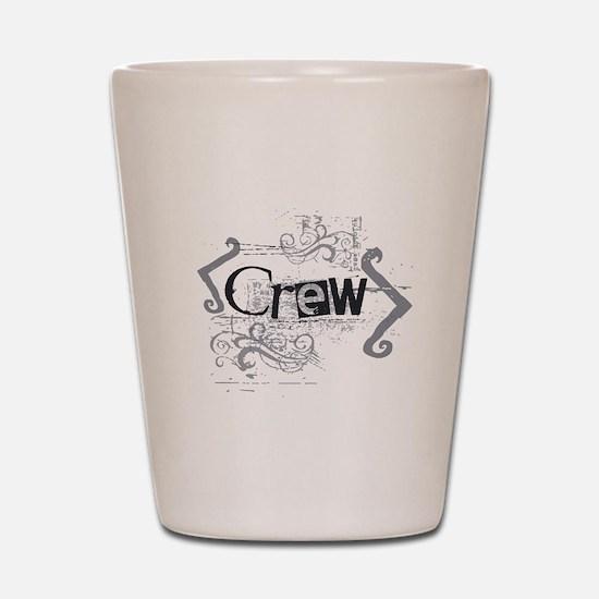 Grunge Crew Shot Glass