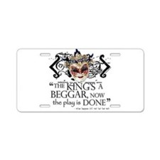 All's Well Aluminum License Plate