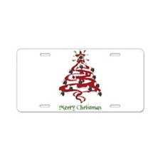 Actors' Christmas Tree Aluminum License Plate