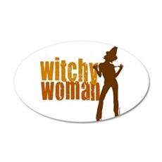 Witchy Woman 22x14 Oval Wall Peel