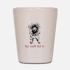 Troll Shot Glass