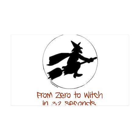 Zero to Witch 38.5 x 24.5 Wall Peel