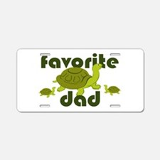 Favorite Dad Aluminum License Plate