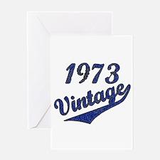 Cool Vintage 1973 Greeting Card