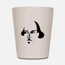 Simple Shakespeare Shot Glass
