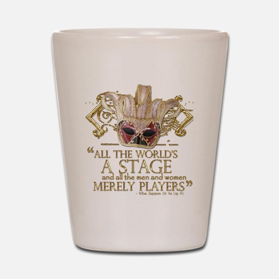 As You Like It Quote Shot Glass