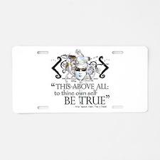 Hamlet III Aluminum License Plate