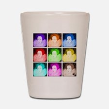 Pop Art Elizabeth I Shot Glass