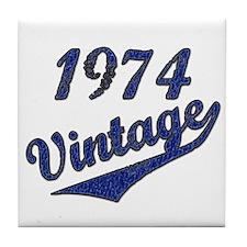 Cute 1974 Tile Coaster