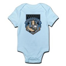 Sons of Ben Crest Infant Bodysuit