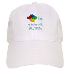 I love my brother with autism Baseball Cap