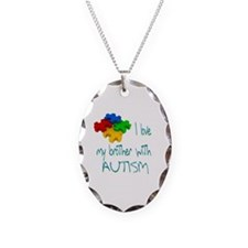 I love my brother with autism Necklace