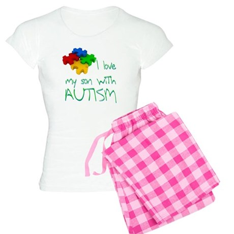 Autistic son Women's Light Pajamas