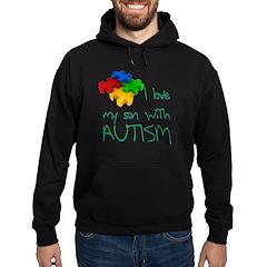 Autistic son Hoodie
