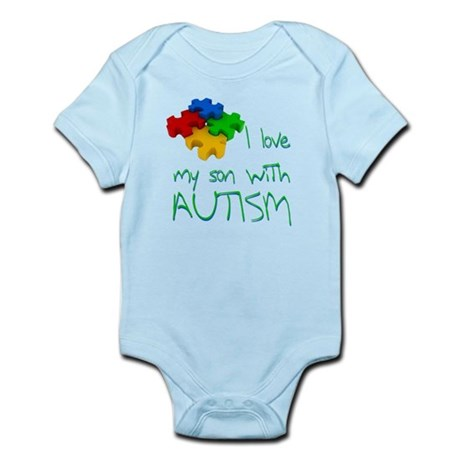 Autistic son Infant Bodysuit