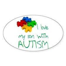 Autistic son Decal
