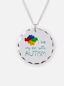 Autistic son Necklace