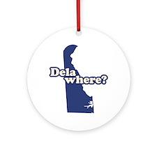 """""""Delaware"""" Ornament (Round)"""
