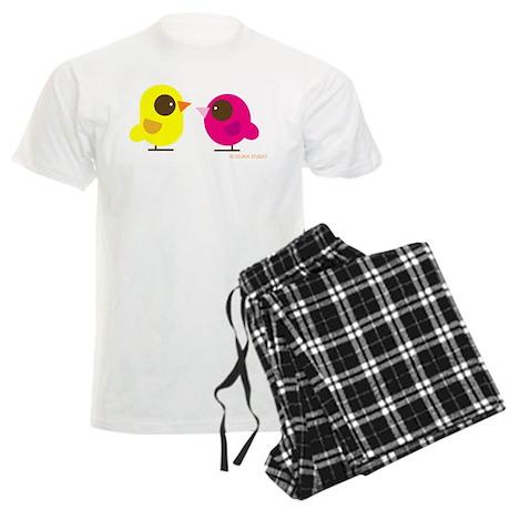 """""""2 Birds"""" Men's Light Pajamas"""