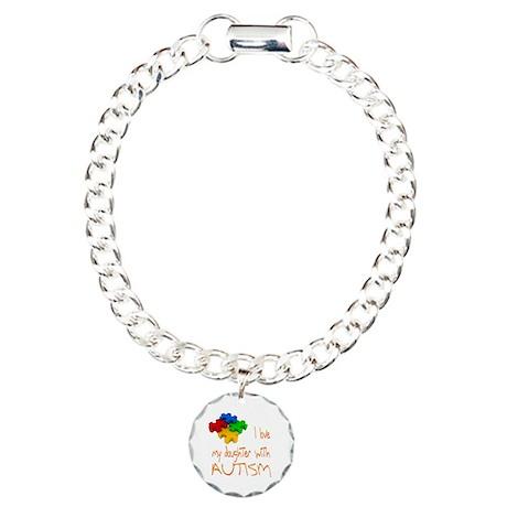 Autistic Daughter Charm Bracelet, One Charm