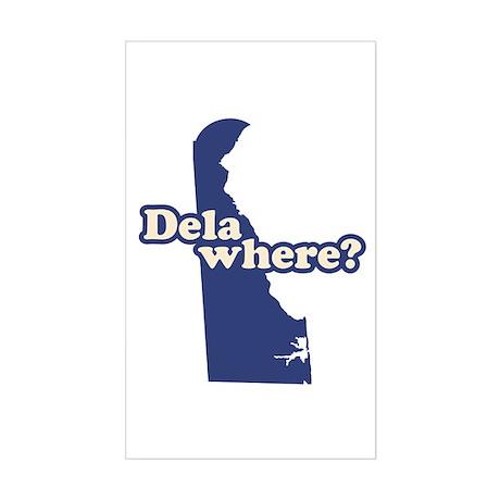 """Delaware"" Sticker (Rectangle)"