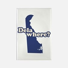 """Delaware"" Rectangle Magnet"