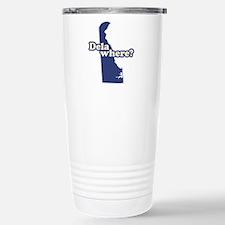 """""""Delaware"""" Stainless Steel Travel Mug"""