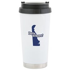 """Delaware"" Travel Coffee Mug"