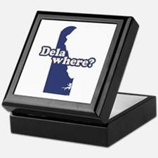 """Delaware"" Keepsake Box"